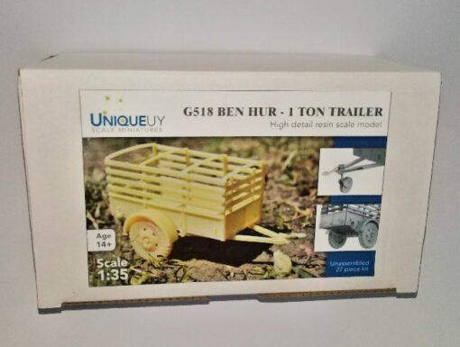 G-518 Ben-Hur 1 Ton. Trailer