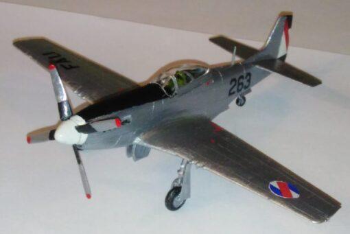 F-51 D Mustang, Fuerza Aérea Uruguaya