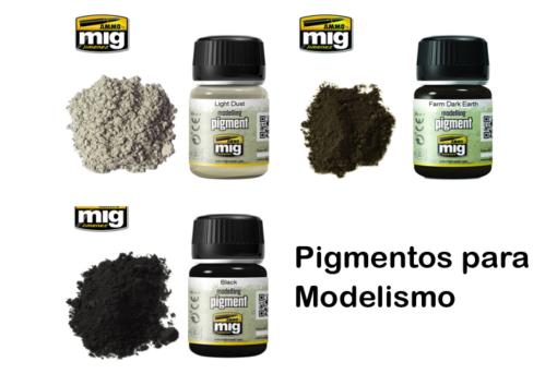 Modelling pigments