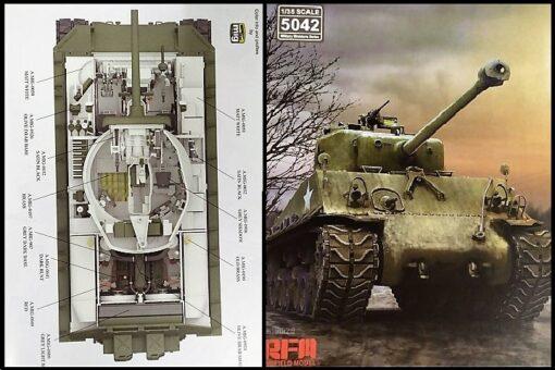 U.S. Medium Tank M4A3 76 mm HVSS Sherman